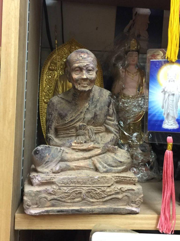 Thai Monk Statue Singapore