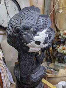 Plaster Statue Repair 2
