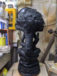 Plaster Statue Repair 4