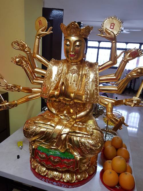 Goddess of Mercy Statue Singapore